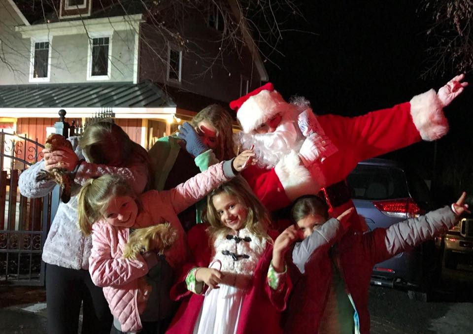SANTA HAS VISITED ALL NEIGHBORHOODS IN FALLSTON !!!!