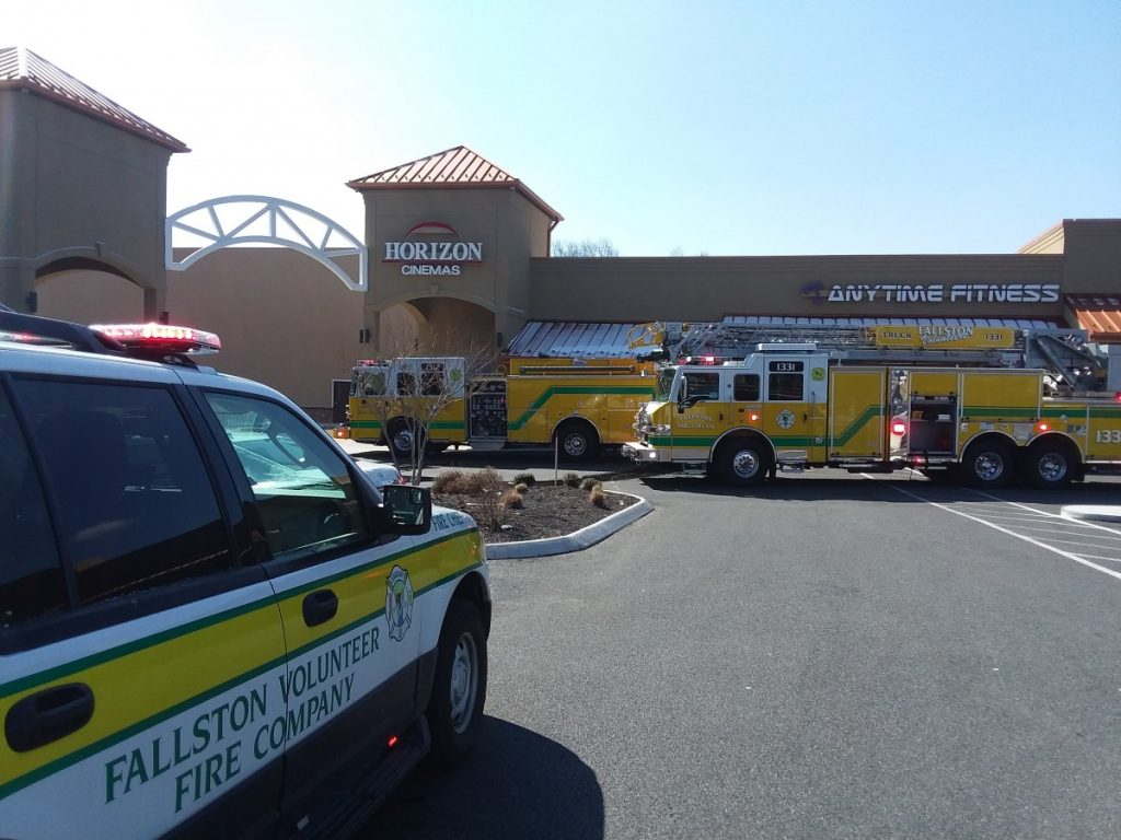 FVFAC RESPONDS TO FIRE AT HORIZON CINEMAS FALLSTON