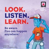 HELP US SPREAD THE MESSAGE!! IT'S FIRE PREVENTION WEEK!!!
