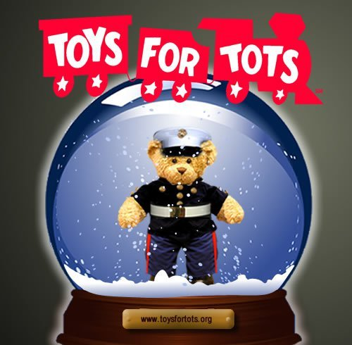 FVFAC PARTNERS WITH THE MARINE CORPS RESERVE TOYS FOR TOTS PROGRAM!!